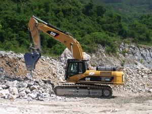 原石掘削・小割